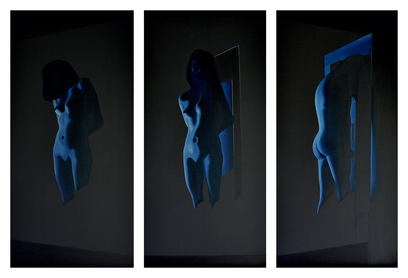 'Prussian Blue' (No.1) (Each Panel 28